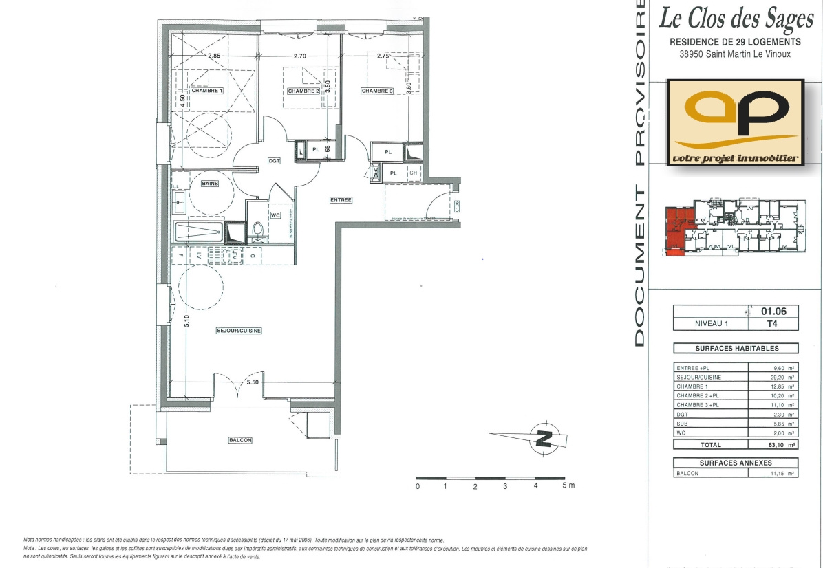 Programme neuf Appartement Saint-Martin-le-Vinoux 38950